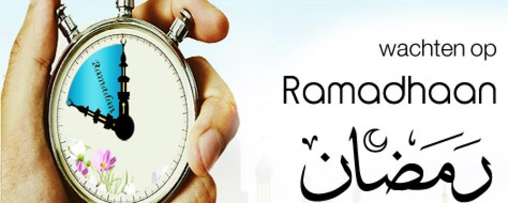20-06-2014 - Voorbereiden voor Ramadhaan